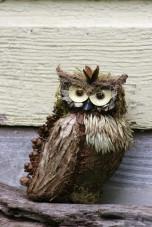 Detail-Sacred Owl