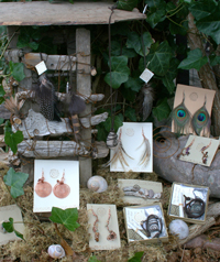sample of Spiral Stone Jewelry by Tessa D'Agostino