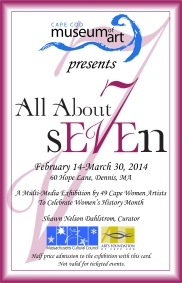 All About Seven Invitation front resized